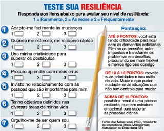 teste sobre resiliencia mães empreendedoras