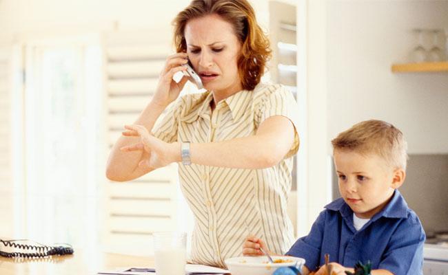 falta de tempo mãe empreendedora